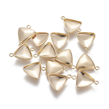 Real Gold Plated Triangle Stainless Steel Links