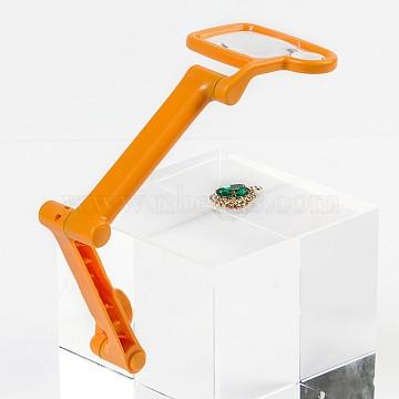 Random Single Color or Random Mixed Color Plastic Magnifier