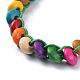 Waxed Cotton Cord Bracelets(BJEW-JB04495-05)-2