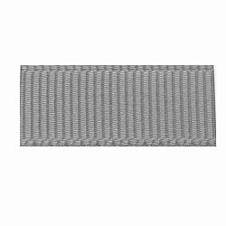 """Rubans gros-grain en polyester haute densité, gris clair, 3/8"""" (9.5mm); Environ 100 heures / rouleau(OCOR-S112-D-04)"""