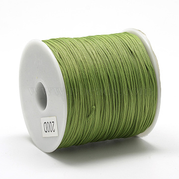 0.8mm OliveDrab Polyester Thread & Cord