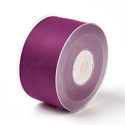 Rayon and Cotton Ribbon, Twill Tape Ribbon, Herringbone Ribbon, Purple, 1-1/2inches(38mm); about 50yards/roll(45.72m/roll)(SRIB-F007-275-38mm)