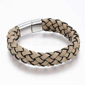 Khaki Leather Bracelets