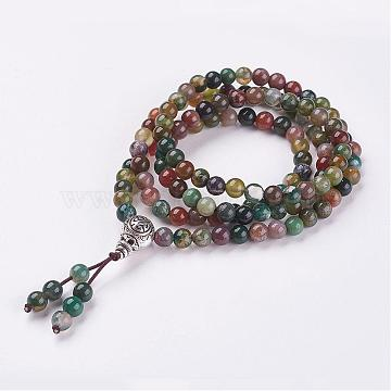 Colorful Indian Agate Bracelets