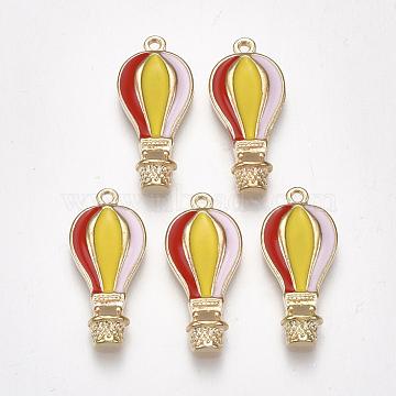 Light Gold Colorful Others Alloy+Enamel Pendants