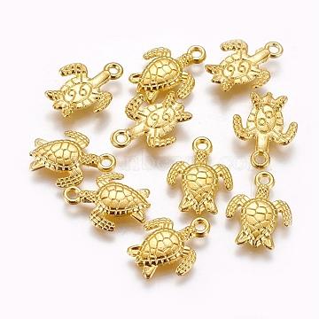 Golden Animal Alloy Pendants