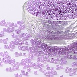 3mm Plum Glass Beads(SEED-A011-3mm-150)