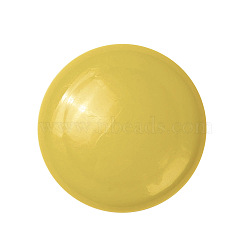 aimants de bureau, aimants ronds pour réfrigérateur, pour tableaux blancs, casiers et réfrigérateur, jaune, 29x9.5 mm(AJEW-E043-01A-04)
