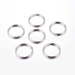 Stainless Steel Color Ring Stainless Steel Clasps(J0RBB011)