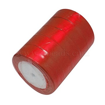 Valentines Day Gifts Boxes Packages Satin Ribbon, FireBrick,1-1/2inches(37mm) wide, 25yards/roll(22.86m/roll)(X-RC37MMY-026)