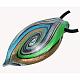 Gros pendentifs en verre argenté manuels(X-SLSP305J)-2