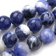 Natural South Africa Sodalite Beads Strands(G-S259-35-8mm)-1