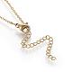 Brass Initial Pendant Necklaces(NJEW-I230-24G-X)-2