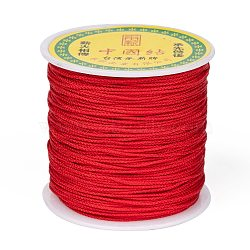 Nylon Thread, Red, 1mm, about 87.48 yards(80m)/roll(NWIR-S005-06)