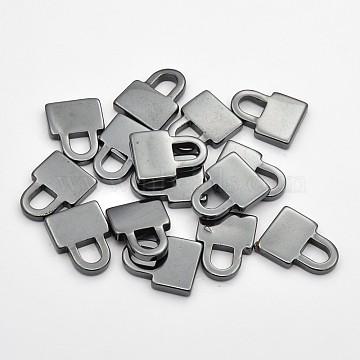Lock Non-magnetic Hematite Pendants
