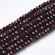 Natural Garnet Beads Strands(X-G-R362-05)-1