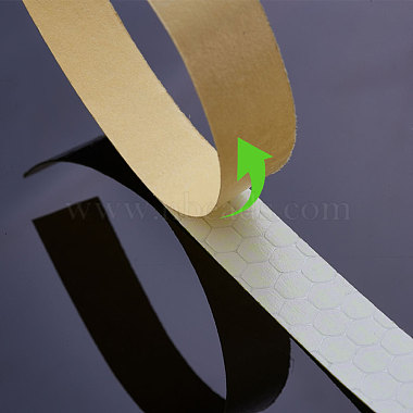 Safety Mark Reflective Tape Crystal Color Lattice Reflective Film(DIY-WH0087-A-M)-2