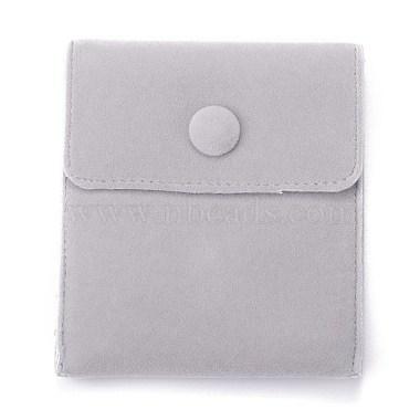 Light Grey Velvet Bags