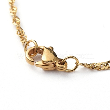 304 Stainless Steel Singapore Chains Necklaces(X-NJEW-JN02662-03)-3