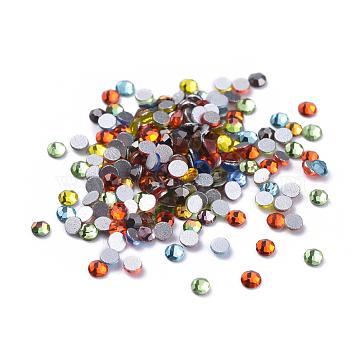 2mm Half Round Glass Rhinestone Cabochons