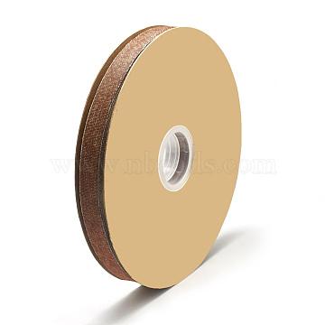 Nylon Ribbon, Cowboy Jeans Cloth, Sienna, 5/8inch(15~16mm); about 20yards/roll(18.288m/roll)(SRIB-N003-06E)