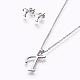 304 Stainless Steel Jewelry Sets(X-SJEW-L141-052T)-1