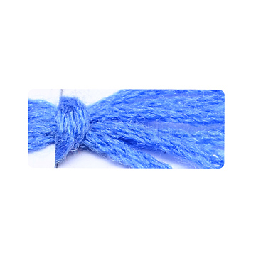 Soft Baby Knitting Yarns, with Cashmere, Wool and Antistatic Fibre, Royal Blue, 2mm; about 50g/roll, 8rolls/box(YCOR-R021-H18)