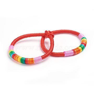 Red Nylon Bracelets