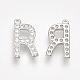 Alloy Micro Pave Cubic Zirconia Charms(ZIRC-T007-JA299-R)-2