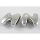 Alloy Rhinestone Initial Letter.N Slide Charms Fit DIY Wristbands & Bracelets(X-ZP2N-NLF)-1