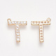 Alloy Micro Pave Cubic Zirconia Charms(ZIRC-T007-JA300-T)-2