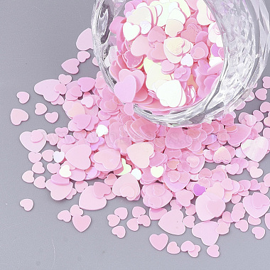 Pearl Pink Plastic Beads