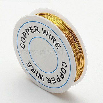 0.6mm Gold Copper Wire