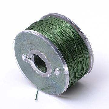 0.1mm DarkOliveGreen Polyacrylonitrile Fiber Thread & Cord