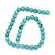 Natural Turquoise Beads Strands(TURQ-P027-32-8mm)-2