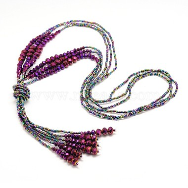 Colorful Glass Necklaces