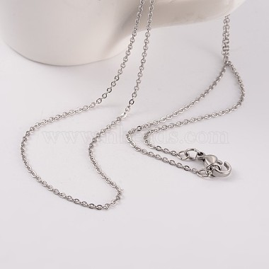 304 Stainless Steel Cable Chain Necklaces(NJEW-JN01526-02)-3