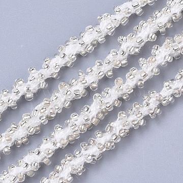 PaleGoldenrod Seed Beads Thread & Cord