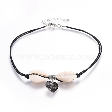 Gray Shell Necklaces