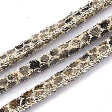 6mm Cornsilk Imitation Leather Thread & Cord