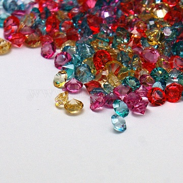 3mm Mixed Color Diamond Resin Cabochons