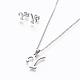 304 Stainless Steel Jewelry Sets(X-SJEW-L141-052Y)-1