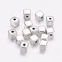 4mm Cube Alloy Beads(Y-LF10549Y)