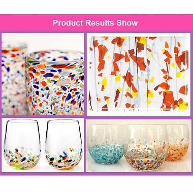 COE 90 Fusible Confetti Glass Chips(DIY-G018-01A)-4