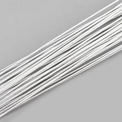 железная проволока, WhiteSmoke, 18 датчик, 1 мм; 40 см / нитка; 100 нить / мешок(MW-S002-03F-1.0mm)