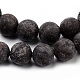 Natural Snowflake Obsidian Beads Strands(G-Q462-72-6mm)-2