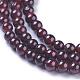 Natural Garnet Beads Strands(G-P433-28A)-2