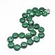 Synthetic Malachite Beaded Necklaces(NJEW-S397-05)-1