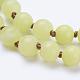 Natural Lemon Jade Beaded Necklaces(X-NJEW-P202-36-B13)-2