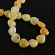 Natural Topaz Jade Bead Strands(G-R190-20mm-08)-2
